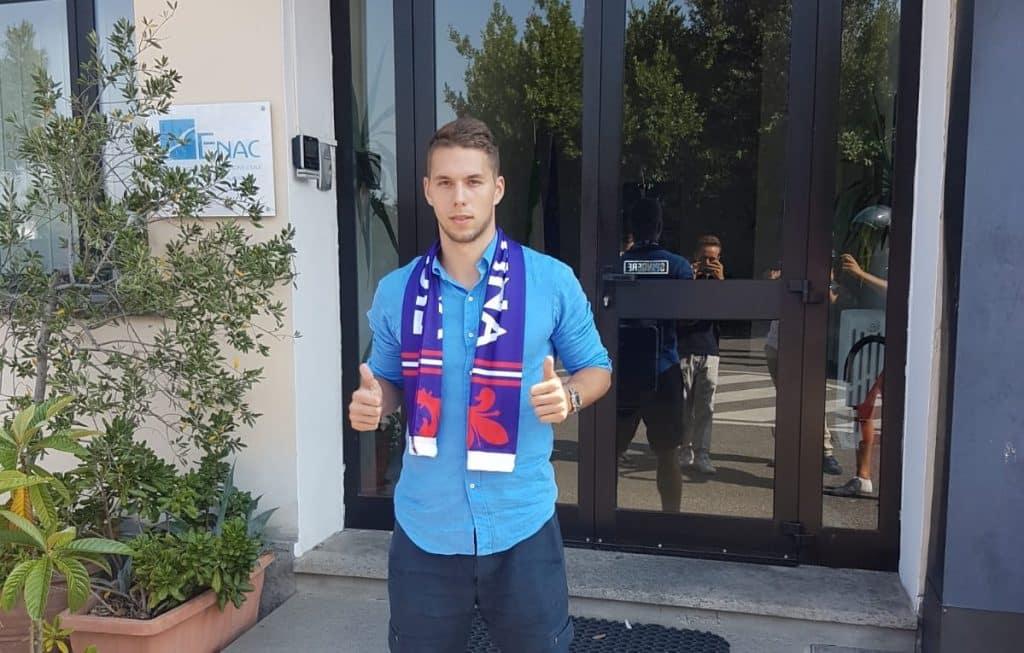 Maillot Domicile Fiorentina MARKO PJACA