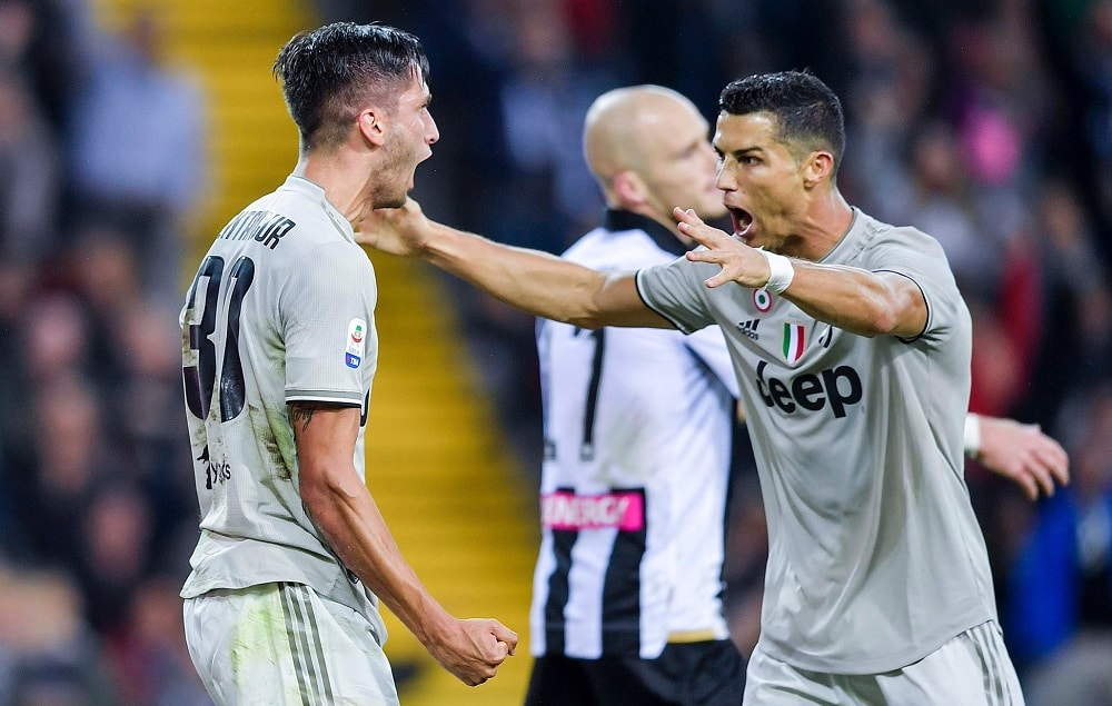 Maillot Domicile Juventus RODRIGO BENTANCUR