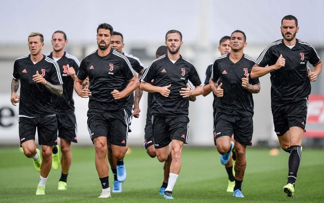 Juventus entraînement