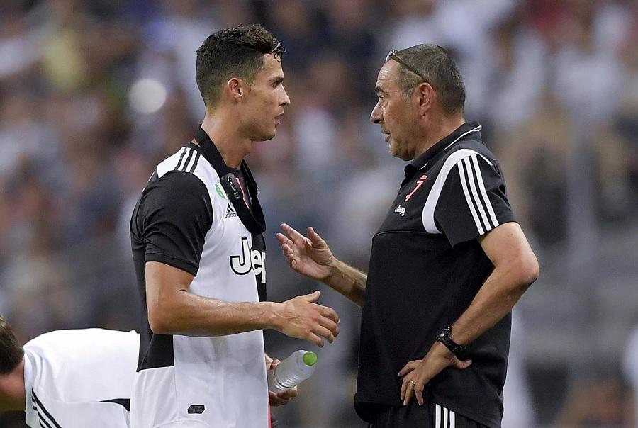 Sarri & Ronaldo Juventus